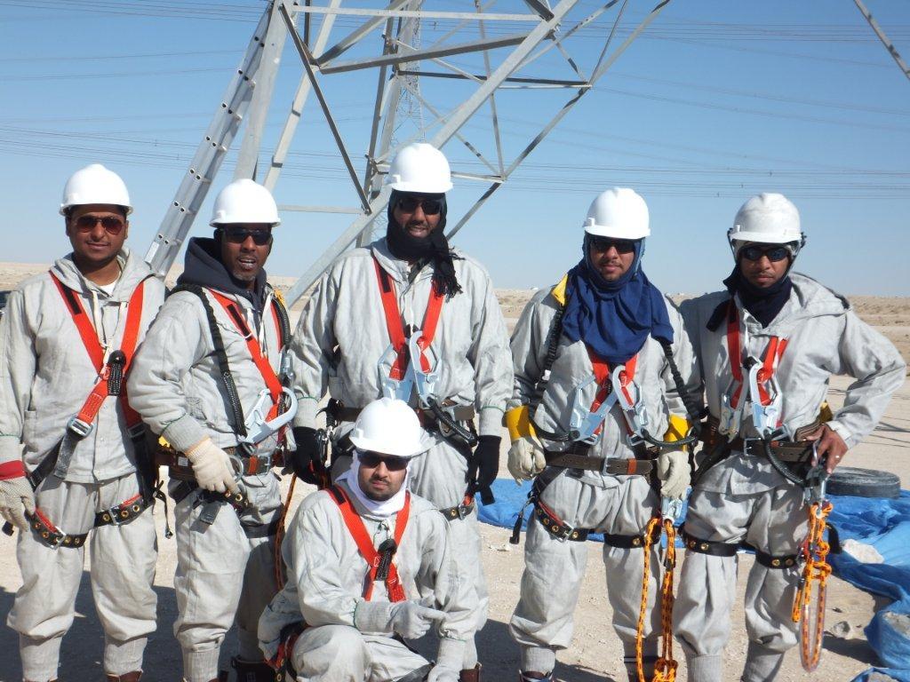 Barehand Training Saudi Electric Compnay